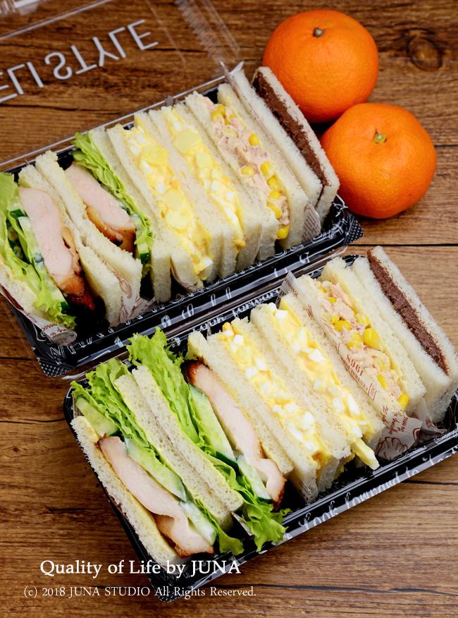 【今日のおべんと】漬け焼きチキンサンドなどサンドイッチのお弁当/一番伝えたかった週末のニュースw