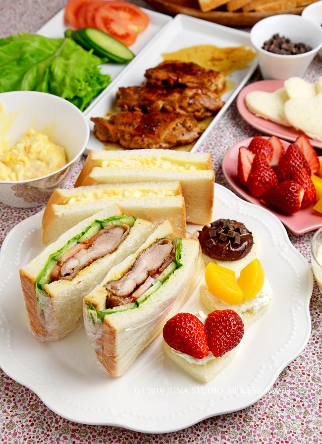 【ヤマサ連載】家族で楽しむバレンタインサンドイッチ