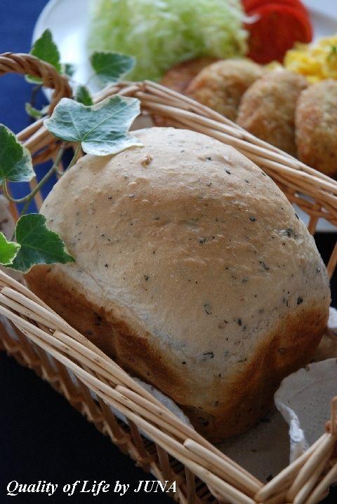 黒ゴマ&くるみパンでコロッケオープンサンド~鼻に付く危険な食べ物~