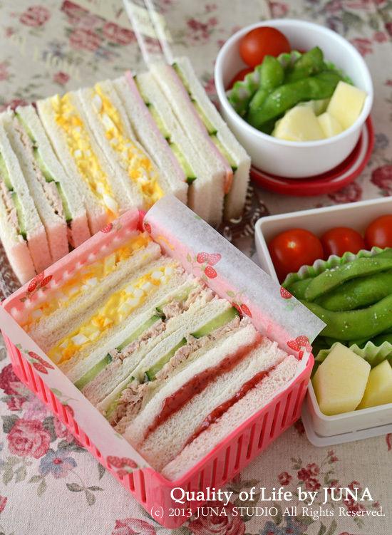 サンドイッチ弁当など