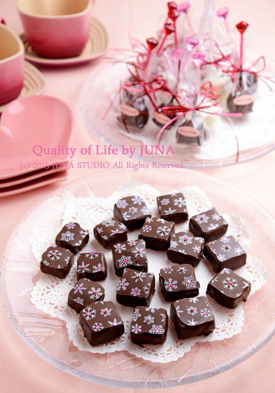 家チョコ2種 チョコ&マロンのケーキポップなど