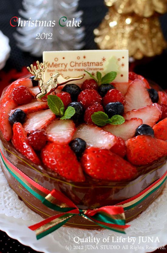 2012 クリスマスケーキ