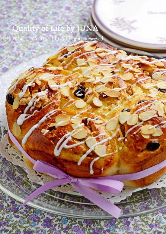くるみ&レーズン&ハニーチップのふんわりパン