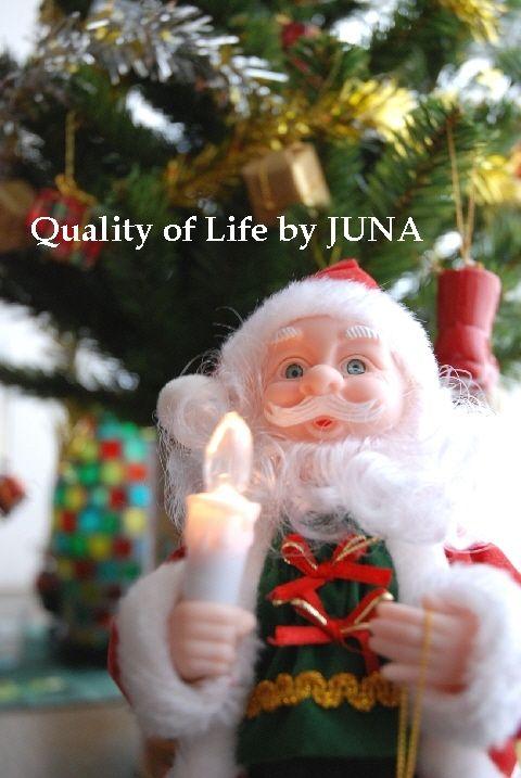 クリスマスと、クリーミーパスタと、テレビ台