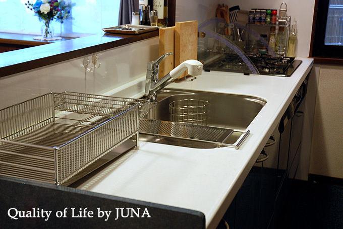 キッチンアイテム、ステンレス化計画