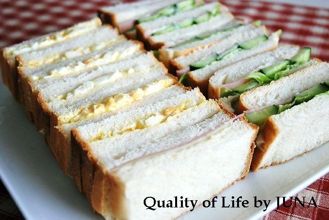 プルマンでサンドイッチ