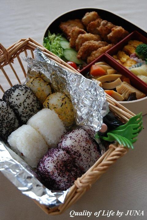 お弁当もって、ピクニッ・・・グ~~~(えどはるみ風)