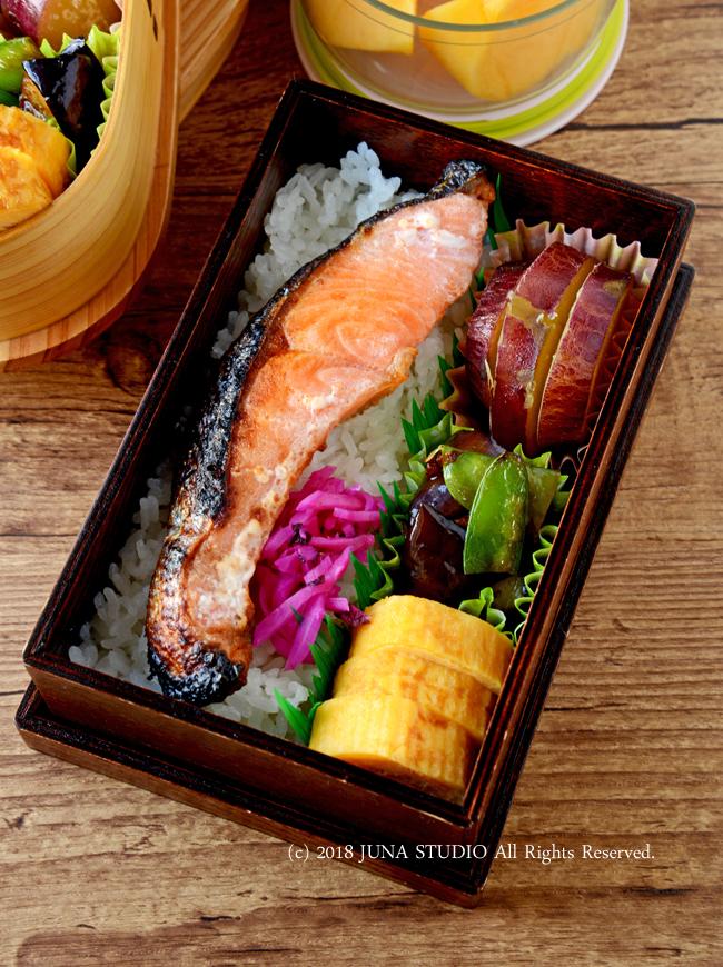【今日のおべんと】鮭弁 /  「夫が恋しい」が意味するものw