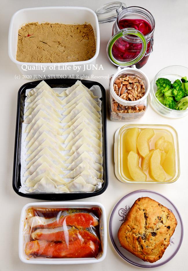 【作りおき&保存食作り】レーズン&くるみのクイックブレッド(バターなしレシピ)などなどいっぱいw