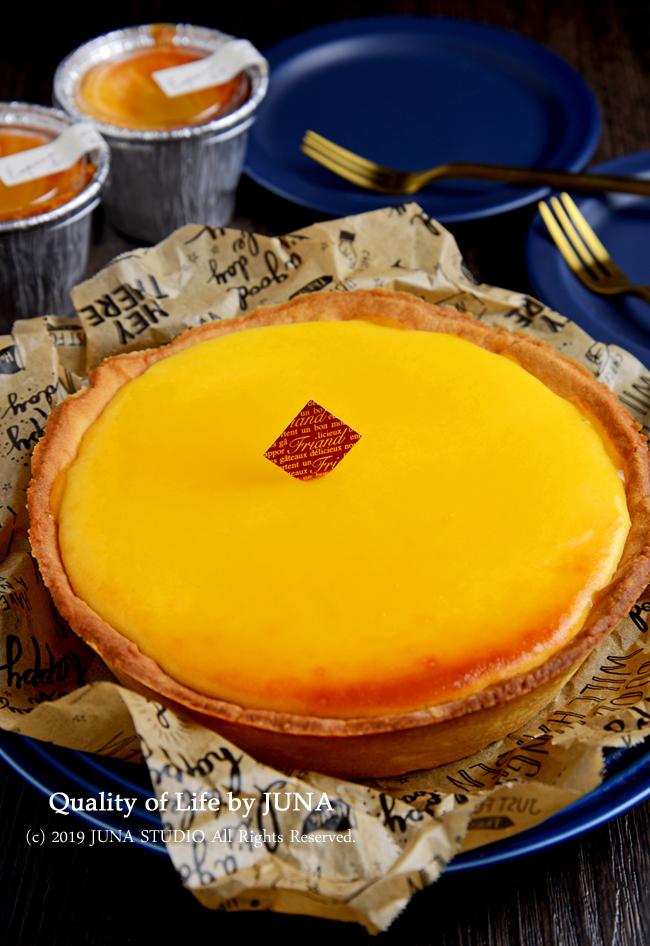 マンケ型で作るとろける半生チーズタルト♡