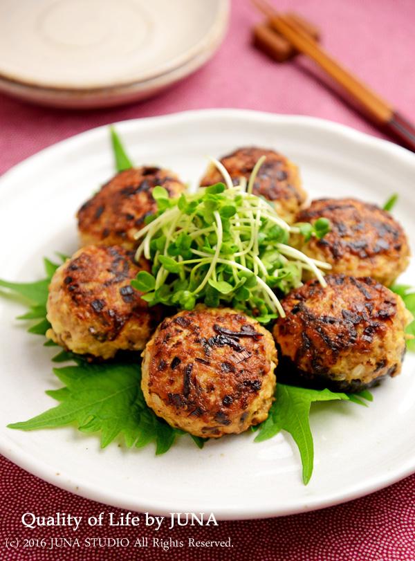 【フジッコ・塩こんぶレシピ】塩こんぶで作るしいたけの肉詰め