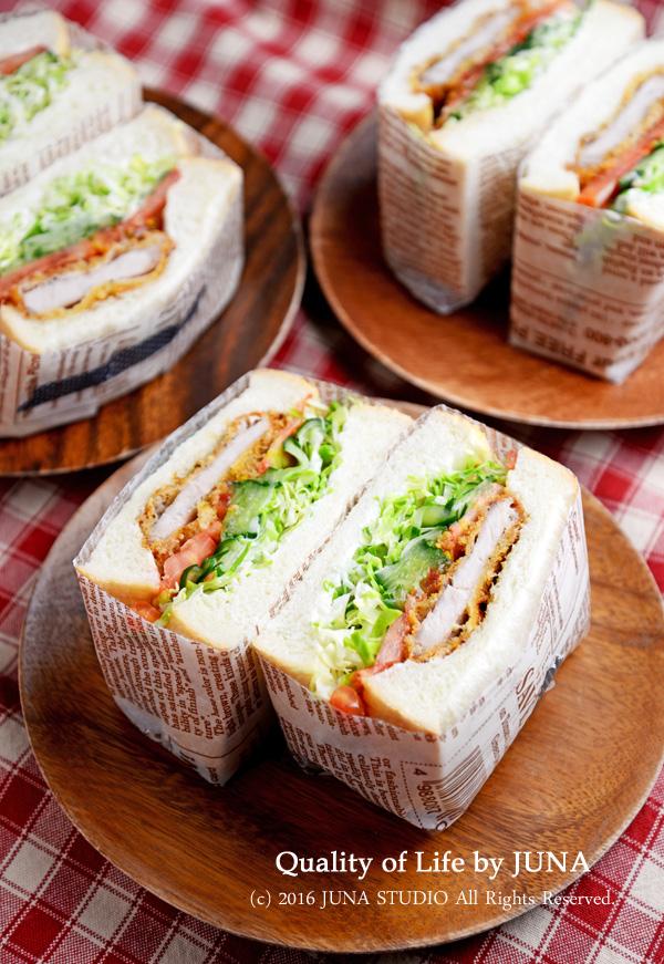 【ブランチ♪】あつ~いサンドイッチ