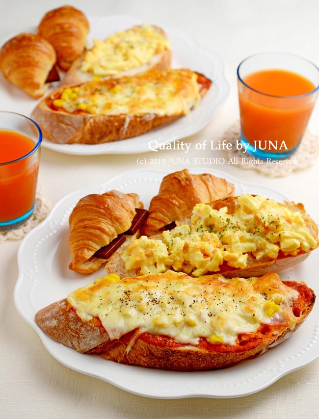 今日の朝ごパン♪