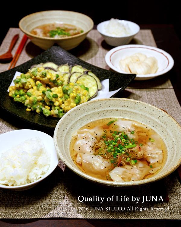 薄削りの鰹節で「いきなり二番だし」→絶品ワンタンスープ