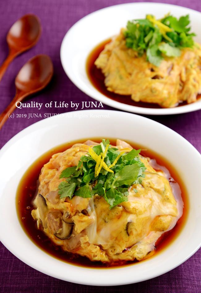 【ヤマサさん連載】親子丼みたいな天津飯/つよぽん昆布ぽん酢祭り(ぽん酢系を使ったレシピをまとめておきました^^)