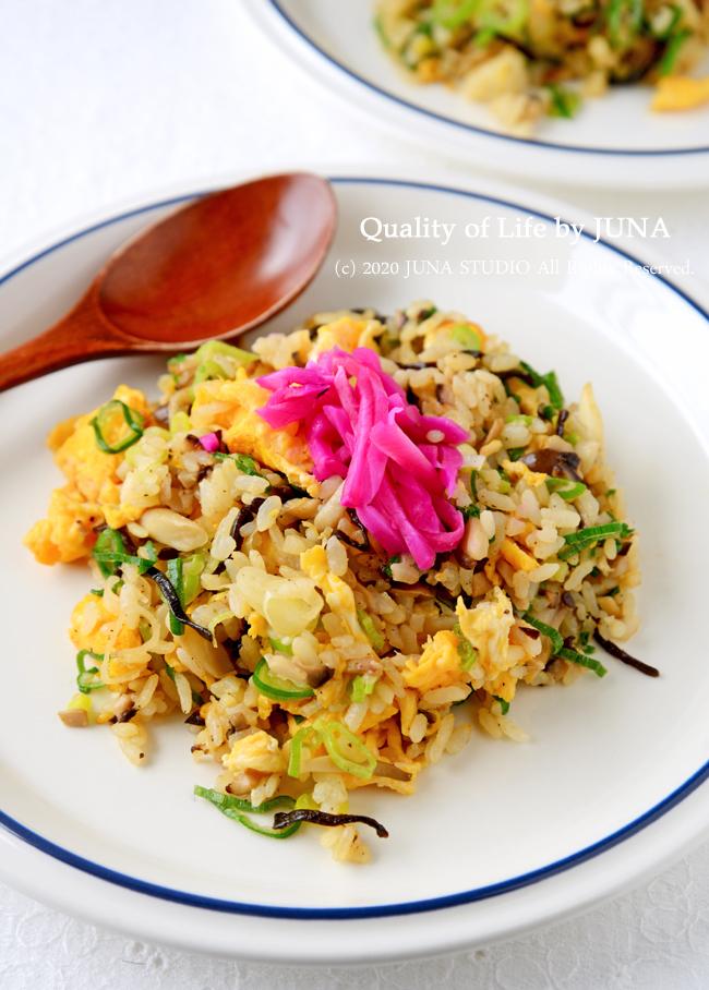 【簡単レシピ】エシャレット入り卵チャーハン