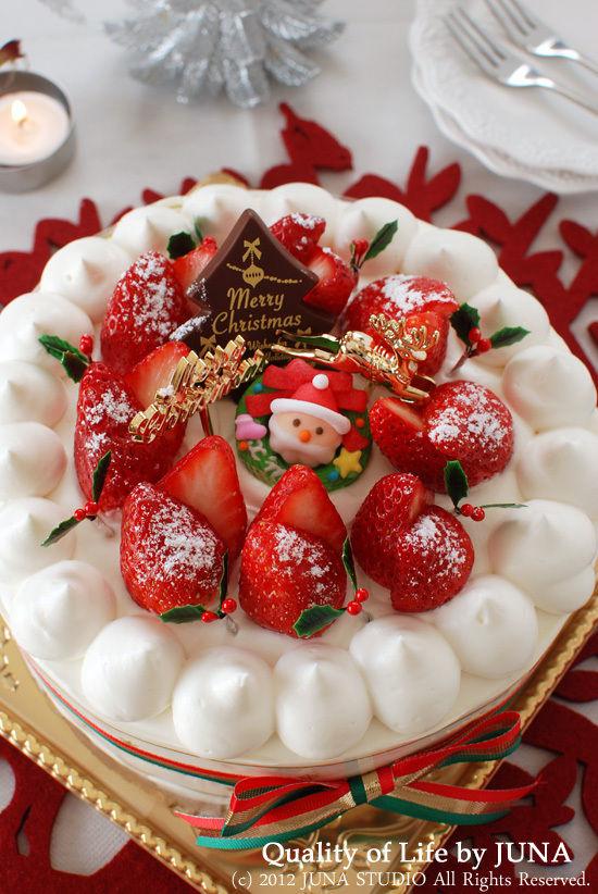 「ママが作るスペシャルクリスマスケーキ」