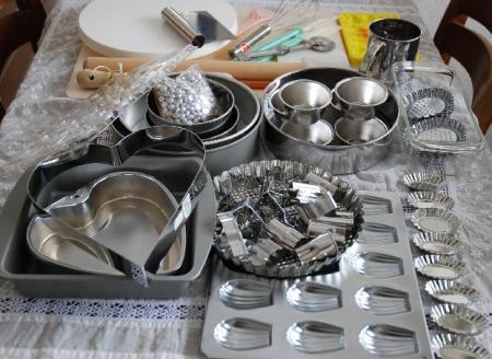 ケーキ作りにかかせないもの。。。「お好み焼きのヘラ」!!