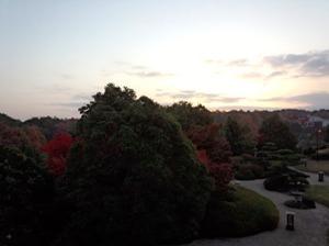 紅葉のきれいな奈良県にて・・@ボスコビラ