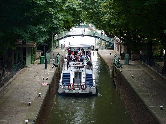 サンマルタン運河