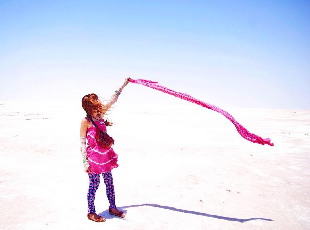 とまこ白砂漠インド