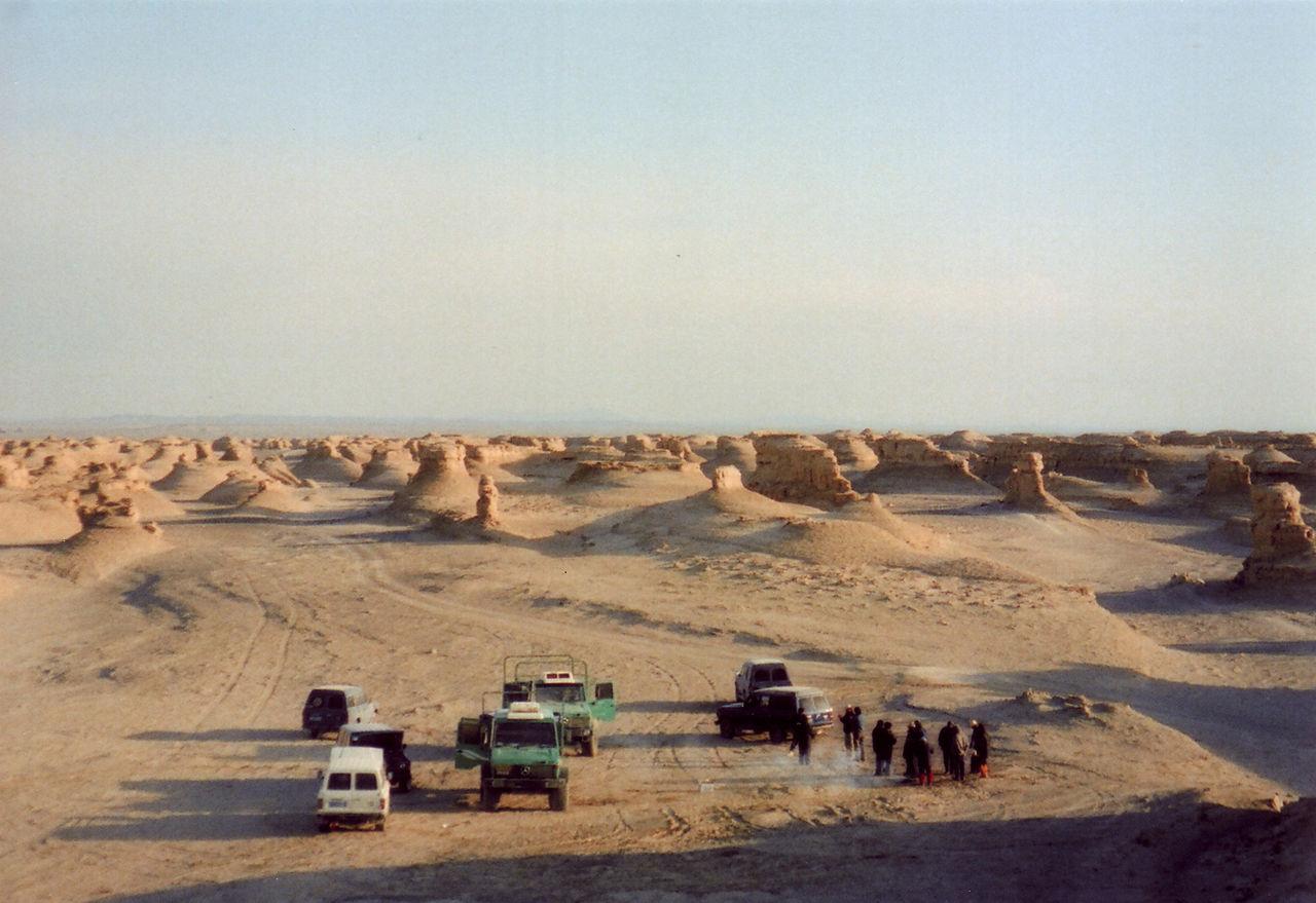 中国新疆ウイグル自治区_砂漠隊