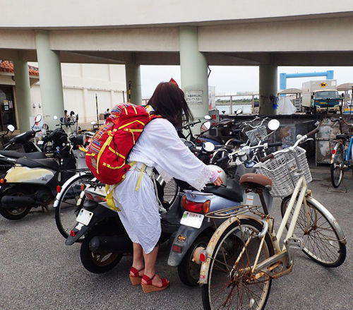 バイク借りた