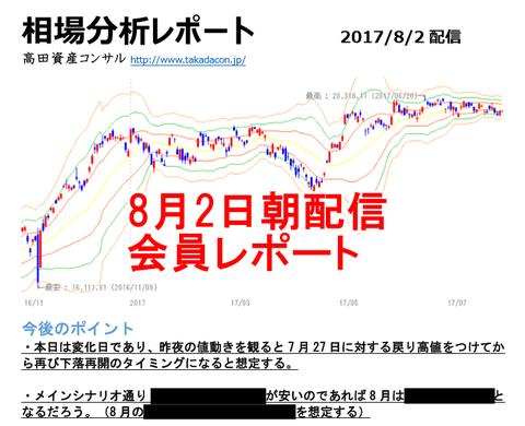 8月2日朝配信レポート
