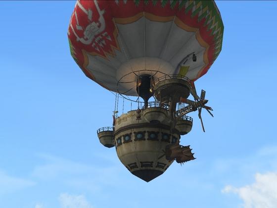気球のったーw