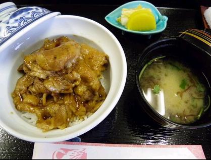渡辺竜王の豚丼