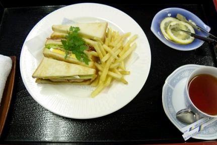 羽生名人のサンドイッチ