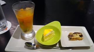 """15(木) 海老名""""アル・マーレ""""「彩ーIRODORIーコース」デザート"""