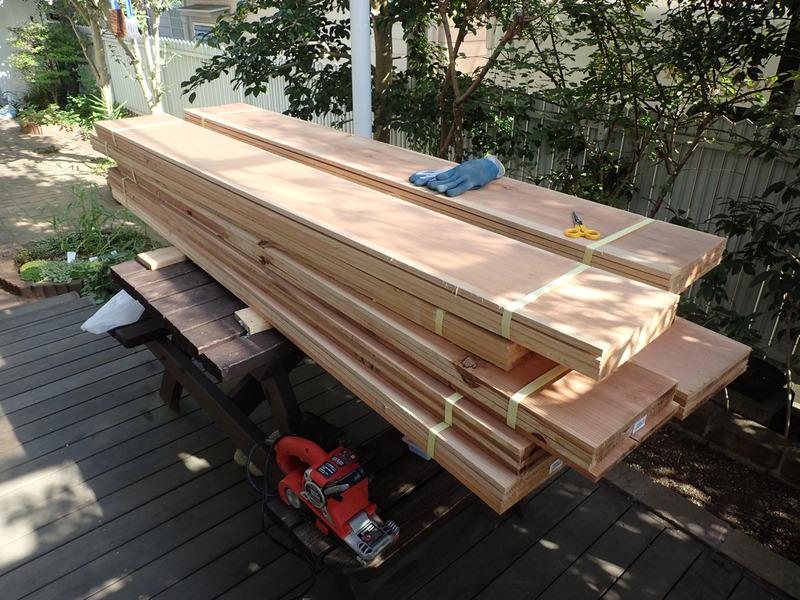 【DIY】畑の物置小屋を作る|その4