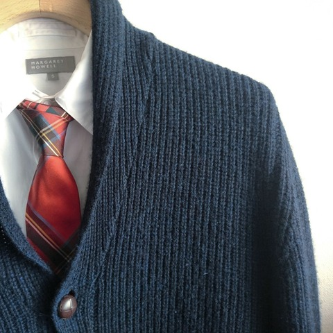shawl collar cadigan