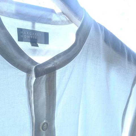 cotton wool oxford shirt
