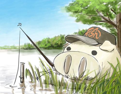 釣りキャブた