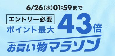 201906楽天スーパーセール