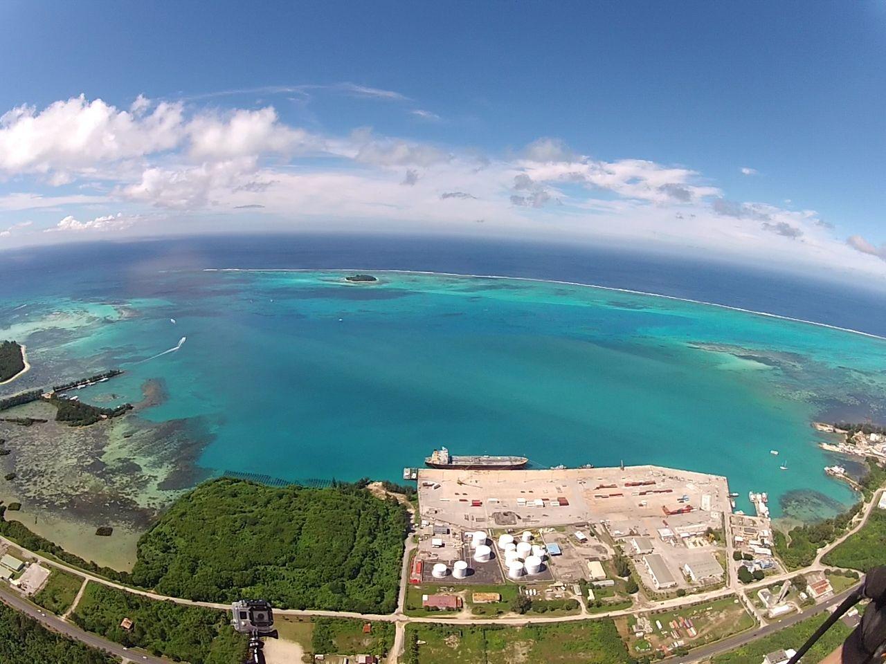 Saipan harbor