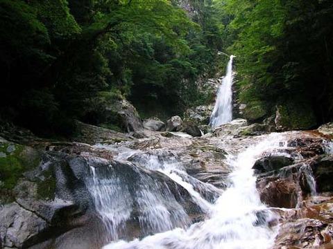 笹の滝 全体写真
