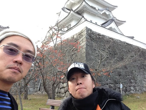 2014年11月伊賀上野紅葉と伊賀上野城