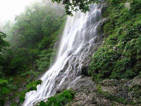 天滝 横からの写真