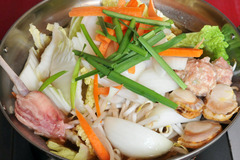 塩ちゃんこ鍋1