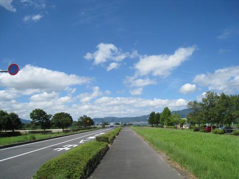 琵琶湖 湖岸道路 写真