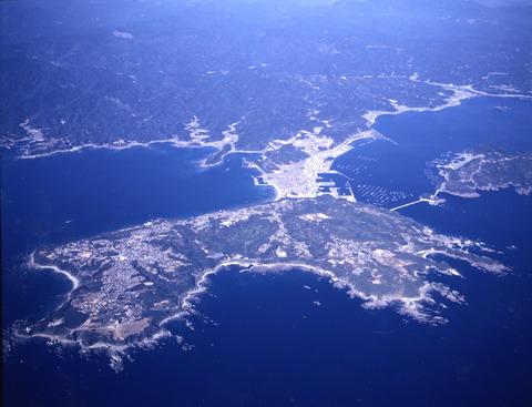 潮岬 航空写真