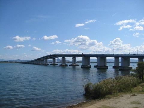 琵琶湖 大橋 写真