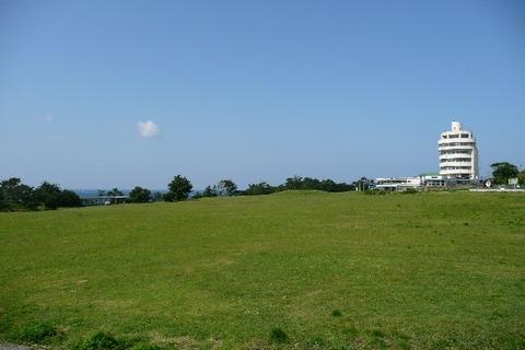 潮岬 望楼の芝 キャンプ場 写真