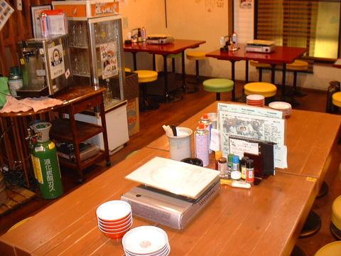 2階テーブルA
