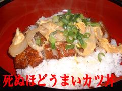 カツ丼文字イン