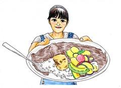 大阪の無料似顔絵といえば居酒屋で鍋を食べながらかけちゃうスタッフのいる店