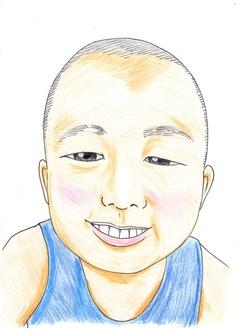 無料似顔絵サービス 色鉛筆で書く天然パー漫画家の作品 まだまだ未熟者なので完成度は未知数ですが心をこめて 写真から無料似顔絵 記念に 贈り物に 誕生日プレゼントに